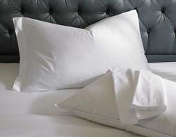 1 pillow cases covers standard 20x30 super white t-180 hotel