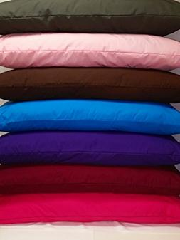 %100 Cotton Body Pillow Protectors / Cover with Zipper