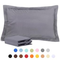 100 percent brushed microfiber standard pillow shams
