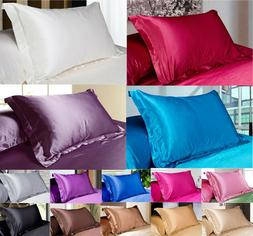 Pure Mulberry simulation Silk Pillow Cases Cushion Covers  B