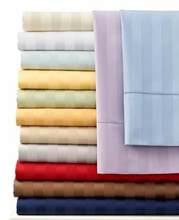 1000 count 100 percent egyptian cotton striped