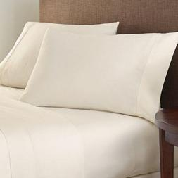 1200 Thread Count Luxury Fabric, Bedding Soft 1-Piece Fitted