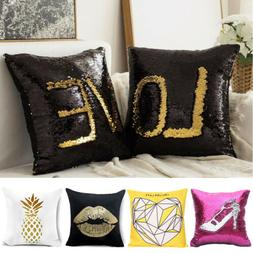"15 Designs 2PCS 16"" 18"" Square Throw Pillow Cases Sofa Cushi"