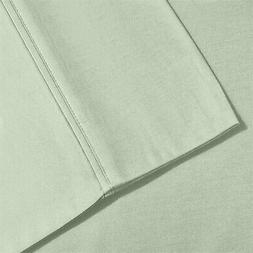 1500 Series King Pillow Cases  Microfiber Solid, Mint