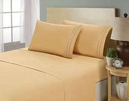Elegant Comfort 1500 Thread Count CHAIN DESIGN Egyptian Qual