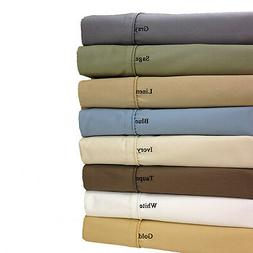 1500 Thread Count 100% Egyptian Cotton 1500TC Bed Sheet Set