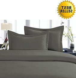 Elegant Comfort 2-Piece 1500 Thread Count Egyptian Quality H