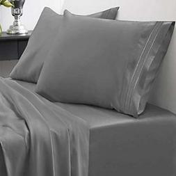 1800 Sheets & Pillowcases Thread Count Set - Soft Egyptian Q