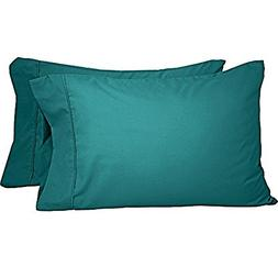 Premium 1800 Ultra-Soft Microfiber Pillowcase Set - Double B