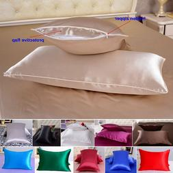 1pc 40 Momme 100% Pure Mulberry Silk Pillow Cases Cushion Co