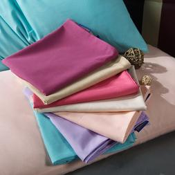 1PC Solid Color Bed Pillowcases <font><b>Standard</b></font>