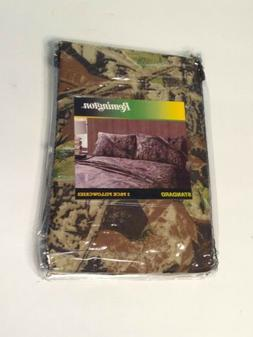 "2 Pillowcases Standard Queen Remington Camouflage 20"" x 30"""