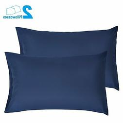 SUNNEST 2 Queen Size Pillowcases Ultra Soft 100% Brushed Mic
