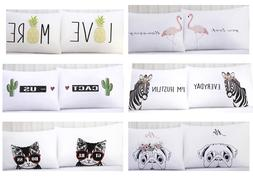 Urban Domain 2 Standard Pillowcases 20in x 30in 51cm x 76cm