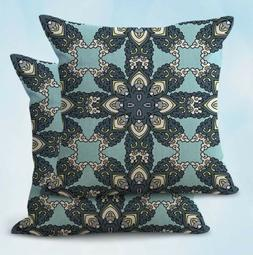 2PCS awesome pillow cases perfection eternity Spanish boho m