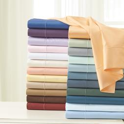 Bed Sheet Set 4 Piece Hotel Quality Egyptian Luxury Fitted U