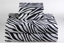 600-Thread-Count 100% Cotton Bed Sheets & Pillowcases Set -