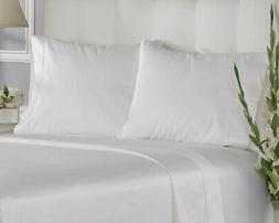 Aspire Linens 400 Thread Count Cotton Solid Pillowcases Set