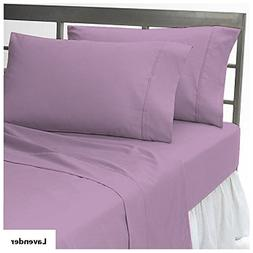 400 Thread Count Solid Pattern Pure Egyptian Cotton King/Cal