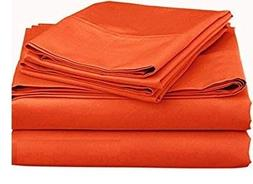 600 Thread Count 100% Egyptian Cotton 3 Piece Flat Sheets/To