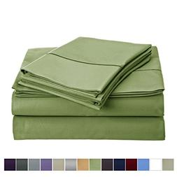 Audley Home 800 Thread Count Sheet Set  100% Long Staple Egy