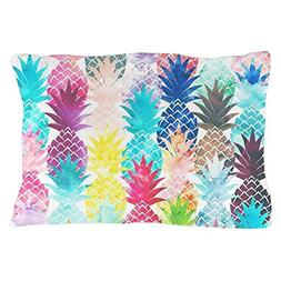 CafePress - Hawaiian Pineapple Pattern Tropical Wa - Standar