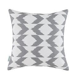 CaliTime Canvas Throw Pillow Cover Case for Couch Sofa Home