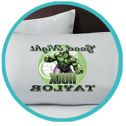 Hulk Pillowcase Pillow Case Personalized Bedroom Decor Gift