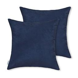 Pack of 2, CaliTime Cushion Covers Throw Pillow Cases Shells