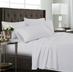 TRIBECA LIVING Ultra-Soft Solid Deep Pocket 6Pc Sheet Set Ki