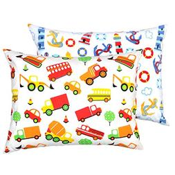 YourEcoFamily Toddler Pillowcases - 100% Certified Organic C