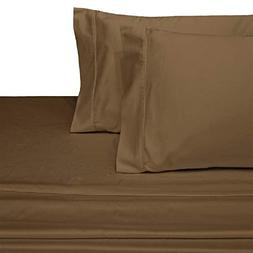 Royal Hotel Collection A Pair of Solid Taupe Brushed Microfi