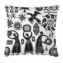 African Tribal Throw Pillow Cases Cushion Covers Home Decor