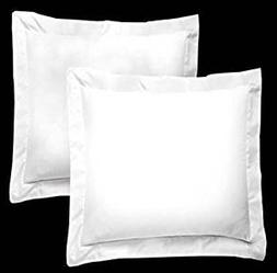 Bedify Collection American Size Set of 2pcs Pillow Case 400