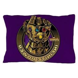 CafePress Avengers Infinity War Gold Gauntlet Pillow Case