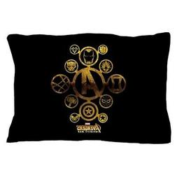 CafePress Avengers Infinity War Icons Pillow Case