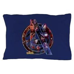 CafePress Avengers Infinity War Symbol Pillow Case