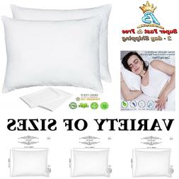 Bamboo Pillow Cases Zippered Pillow Protectors Queen King Pa