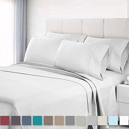 Empyrean Bedding 6 Piece Set - Hotel Luxury Silky Soft Doubl