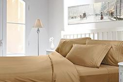 Bed Sheet Set 1800 Collection deluxe microfiber sheets 4pc.