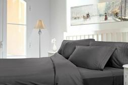 Bed Sheets & Pillow Cases Microfiber Complete Set 6pc By Uto