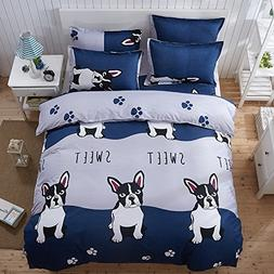 4pcs Bedding Set Cantoon One Duvet Cover Without Comforter O
