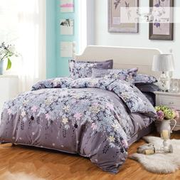 Bedding Set Dandelion Print Single Double King Duvet Cover <