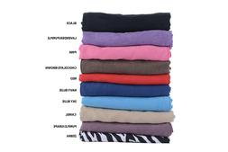 Body Pillow Cover Pillowcase Soft Micro Suede Multiple Color