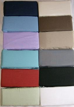 """BODY PILLOW PILLOWCASES 12 COLORS for the 20 X 54 """"  PILLOW"""
