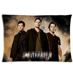 brand new supernatural rectangle pillow case 20x30
