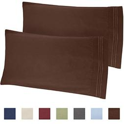 brown pillow cases