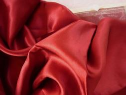 Feeling Pampered Burgundy Red 100% Silk Pillowcase for Beaut