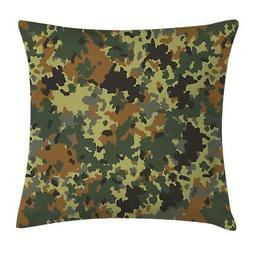 Camo Throw Pillow Cases Cushion Covers Home Decor 8 Sizes Am