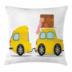 camper throw pillow cases cushion covers by